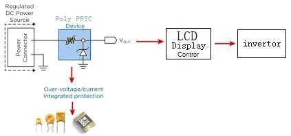 JDTFUSE在LCD驱动板的保护应用